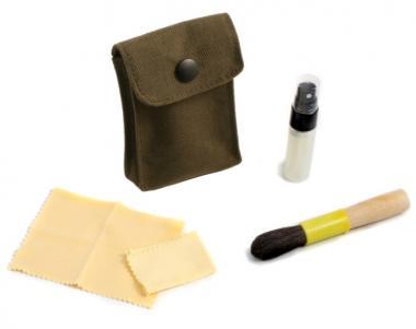 Optik-Reinigungsset mit  Aufbewahrungstasche, 4-teilig