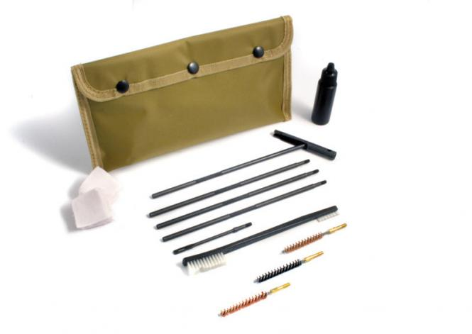 Cleaning set Cal. .40-.416 / 10-10,6mm 9-parts FLEX S, M4 thread