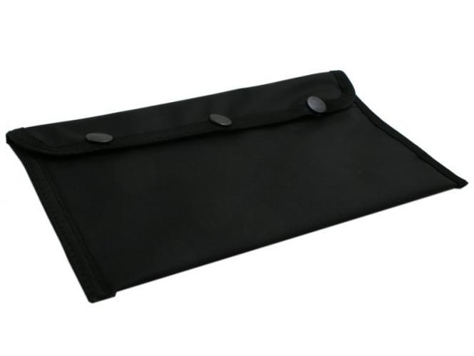 Tasche für Waffenpflegeprodukte, schwarz   245x165mm, schwarz