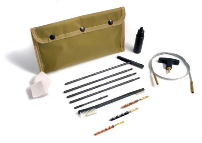 Reinigungsset Kal. .22-.228 / 5,56-5,7mm 10-teilig FLEX S, Gewinde M4
