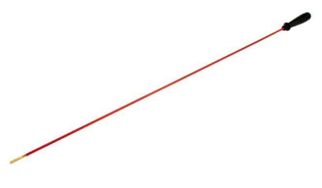Reinigungsstab Federstahlstahl mit M4 Gewinde, ab Kaliber .22 / 5,56 mm   ca. 650mm bis Griff, Ø 5mm | Federstahl(ummantelt), Kunststoffgriff